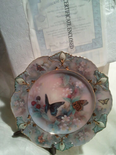 """Enchanted Wings"" The Bradford Exchange Collectors Limit # Plate By Lena Liu"