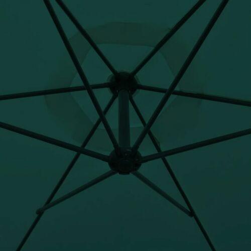 vidaXL Parasol Porte-à-faux 3 m Parasol de Jardin Terrasse Plage Multicolore