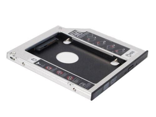 Second Hard Drive SSD Caddy Adapter Case for Dell E series Latitude E4300 E4310