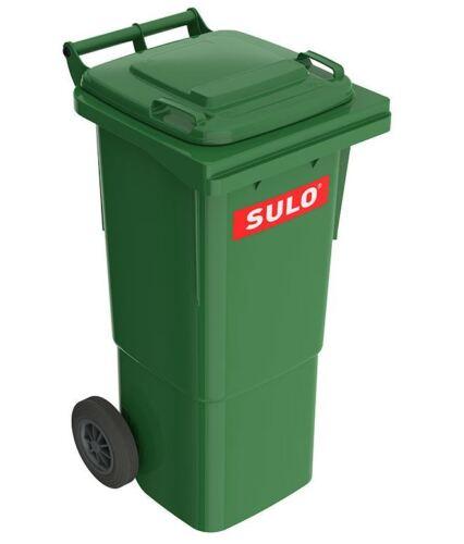 SULO Abfalltonne Müllbehälter Mülltonne 60-120 Liter grau grün braun gelb orange