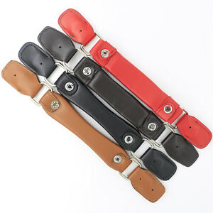 6c4cc483655b Details about Luggage Handle Replacement PU Leather Fix Holders Suitcase  Box Pull Carry Strap