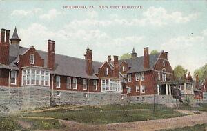 Postcard-New-City-Hospital-Bradford-PA