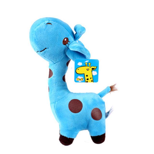 Lovely Giraffe Soft Plush Toy Animal Dear Doll Baby Kid Children Birthday Gift