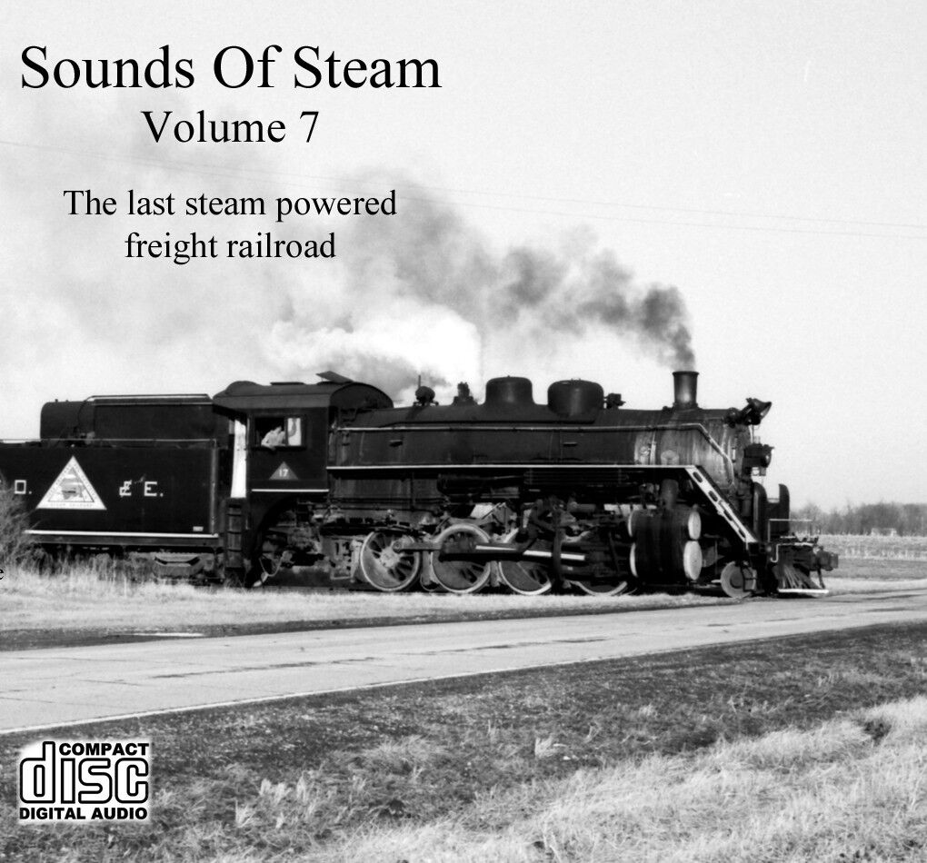 Train Sounds On CD  Sounds Of Steam, Volume 7