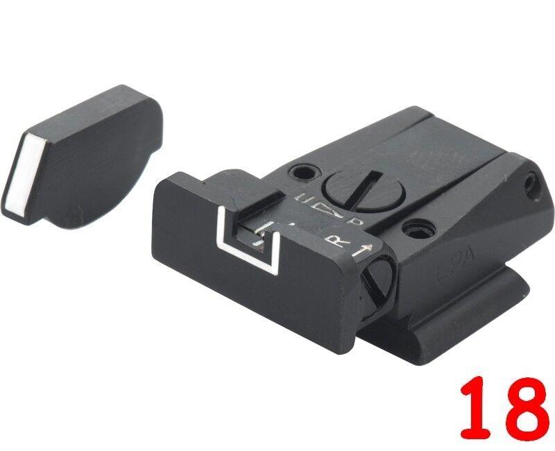 LPA sight set for Ruger P85, P89