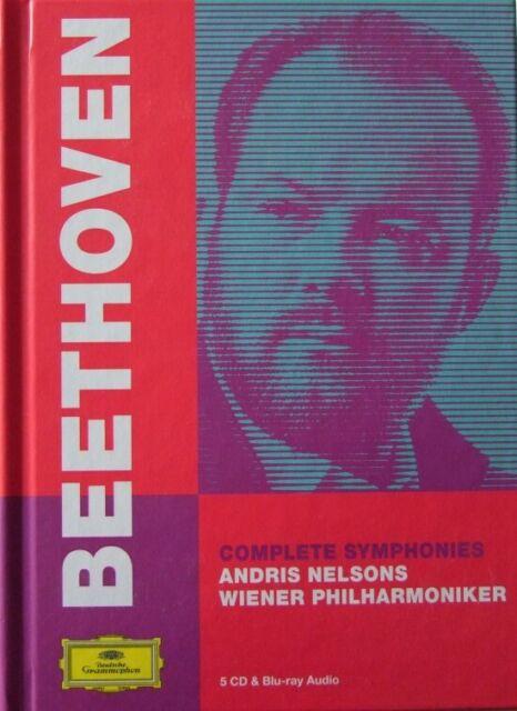 Ludwig van Beethoven - Sinfonie 1-9 - Andris Nelsons CD + blu-ray Audio
