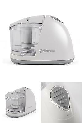 1 1/2 Cup One-Touch Electric Kitchen Mini Food Processor Chopper Dicing Cut NEW