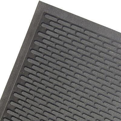 ProKleen Commercial Heavy Duty Door Floor Mat Non Slip Hard Wear Rubber Entrance