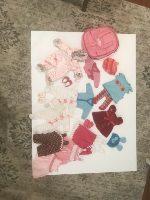 american girl bitty baby doll clothes lot