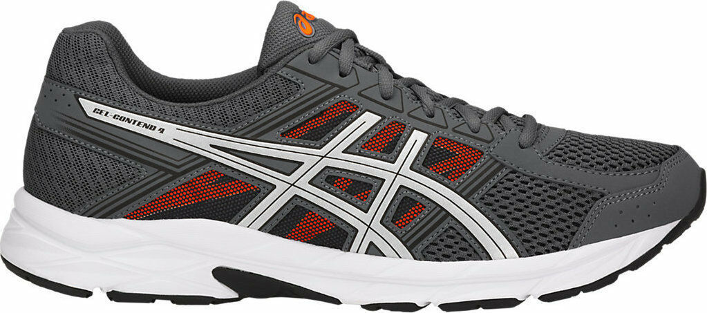 ASICS Gel-Contend 4 Mens Carbon Running Trainers Sneakers shoes T715N.9793 Size
