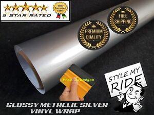 5M-x-1-5M-Gloss-Metallic-Silver-Vinyl-Wrap-w-Air-Release-Bubble-Free