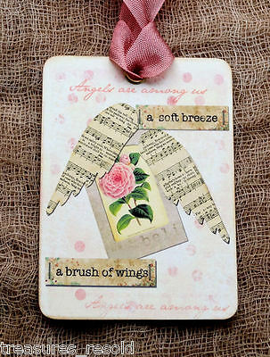 Hang Tags  ANGELS ARE AMOUNG US TAGS or MAGNET #396  Gift Tags