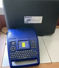 Brady Bmp71 Label Thermal Printer With Hard Case For Parts Repair