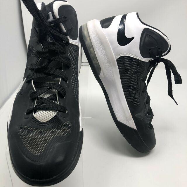 NIKE AIR 2012 MAX HYPER GUARD UP 530963 001 Shoes Size 7 Black And White MEN'S