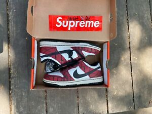 2004 NIKE DUNK LOW SPIDER MAN 5y . Rep