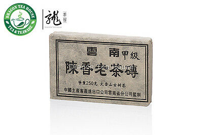 CNNP Snowy Mountain Ancient Tree Aged Pu-erh Tea Brick 90s 250g Ripe