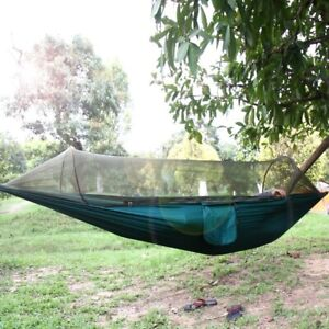 Portable Camping Hammock with Mosquito Net for Safe and Relax Camping Experience