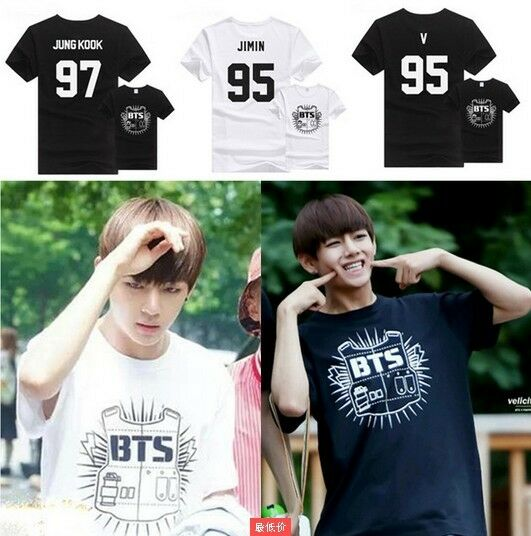 KPOP BTS In Bloom Jimin T-shirt Bangtan Boys Jung Kook Tshirt J-Hope Cotton Tee