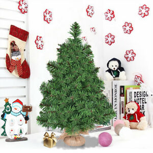 Image Is Loading 2ft 3ft Mini Artificial Tabletop Christmas Tree W