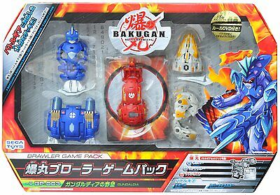 New Sega Toys Bakugan BRAWLER GAME PACK GP-003 Gundaldia Japan