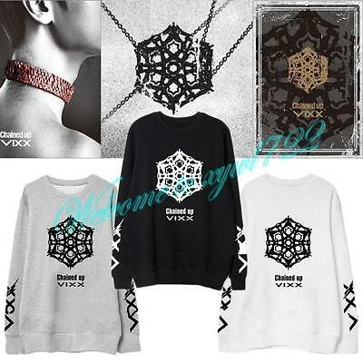 VIXX V.I.X.X 2015 LEO N RAVI KEN HONGBIN HYUK CHAINED UP UNISEX SWEATER KPOP NEW
