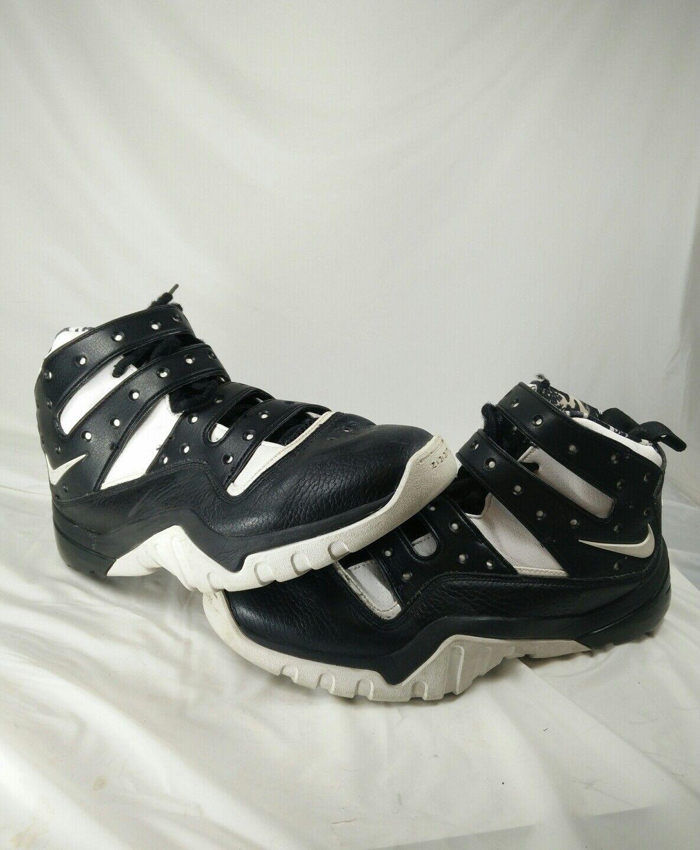2007 Nike Zoom Sharkley Remix Barkley White/Black/Orange supreme sz 12.5US