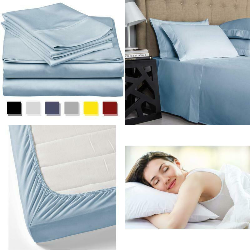 Gift True Luxury 1000 Thread Count 100% Egyptian Cotton Bed Sheets
