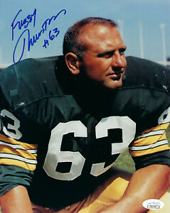 1960-039-s-PACKERS-Fuzzy-Thurston-signed-8x10-photo-w-63-JSA-COA-AUTO-Autographed