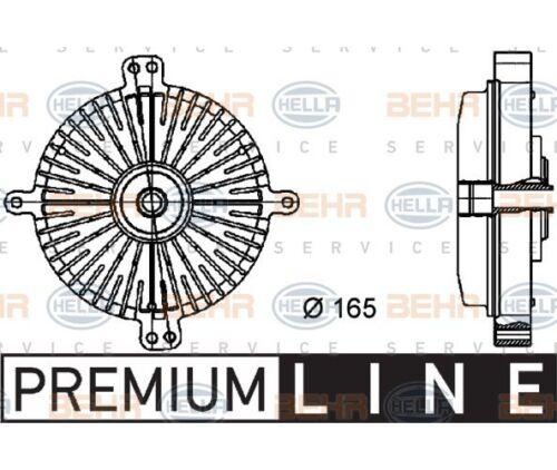 Hella Embrayage Refroidisseur Ventilateur BEHR HELLA SERVICE *** Premium Line *** pour