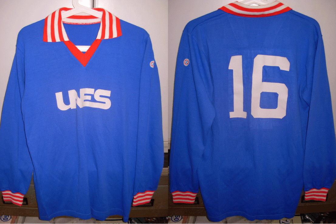 Maglia shirt lanetta aurora pro patria calcio anni 80 zinetti size L usata nr 16