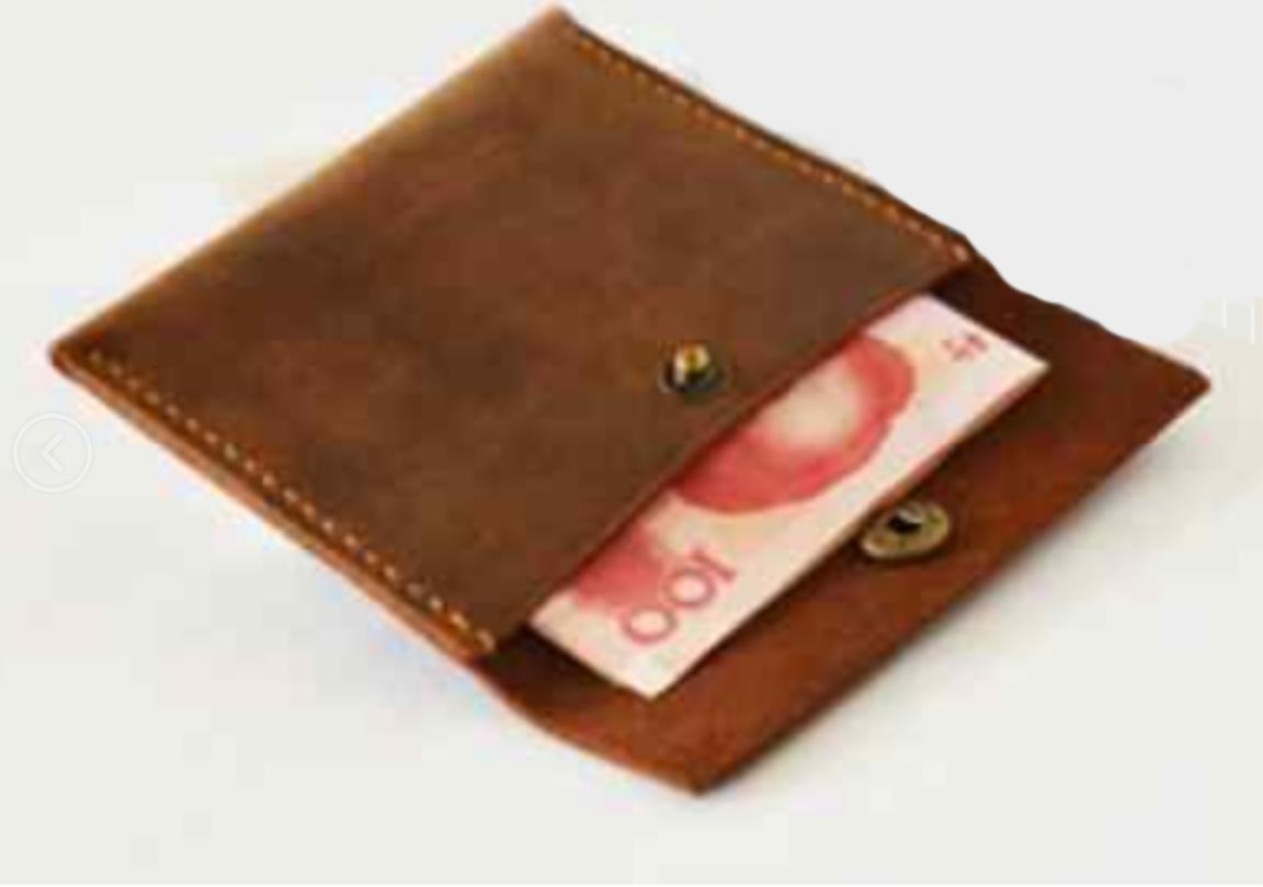 men women wallet cow Leather Card ID case driver license Holder bag brown z025