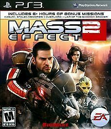 Mass Effect 2 GAME Sony Playstation 3 PS PS3 ME ME2