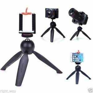 YunTeng 228 Mini Tripod Mobile Phone Holder Clip Desktop Selfie Camera Stand