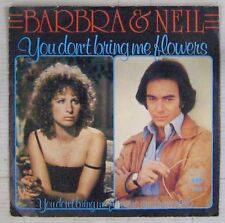 Barbra Streisand & Neil Diamond 45 Tours You don't bring me flowers 1978