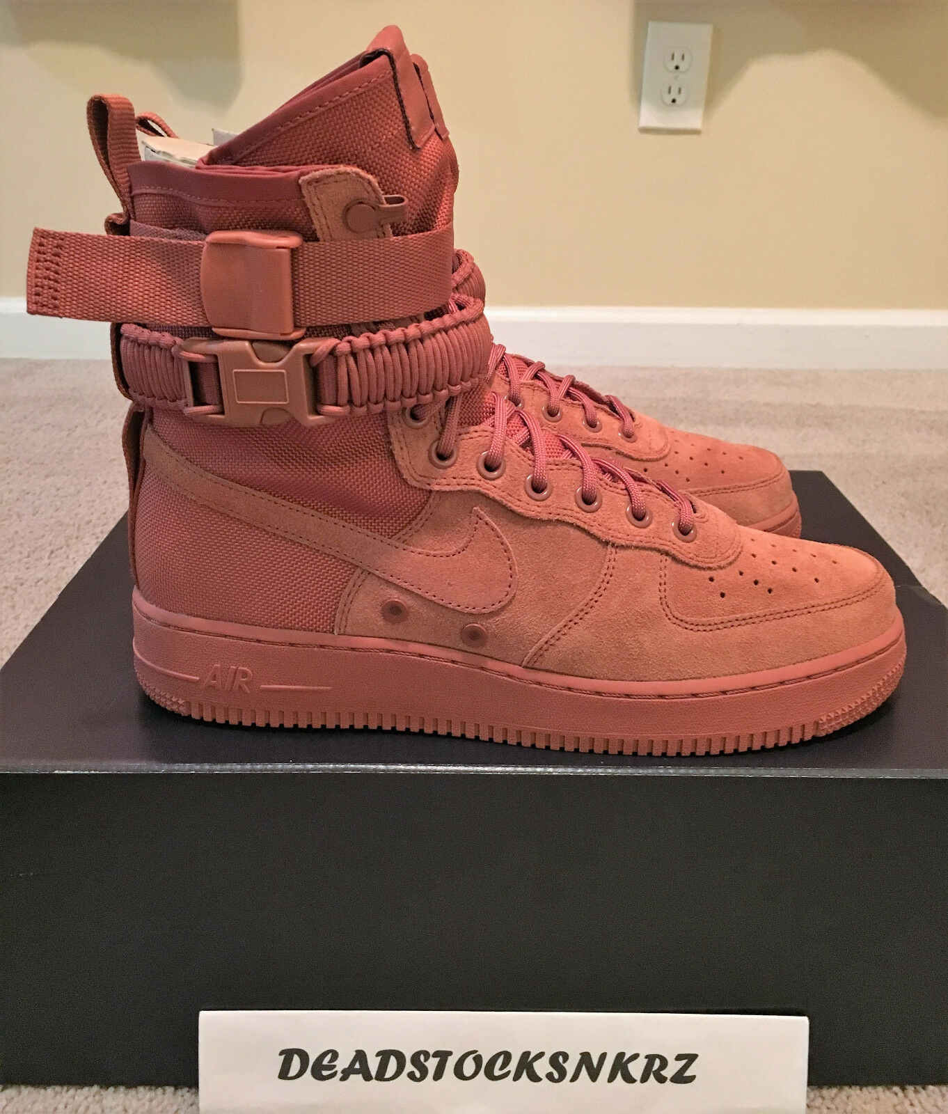 Nike SF AF1 Special Field Air Force 1 Dusty Peach 864024 204 Men's Sz 9.5 & 10.5