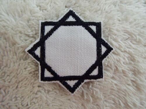 """E29 MELCHIZEDEK SEAL Mormon Religious 2/"""" Embroidery Iron-on Patch"""