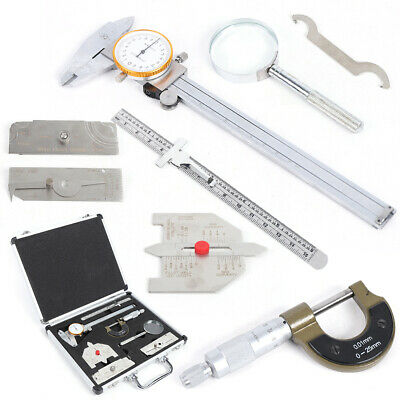 Welding Measurement Gauge Tools  Gage Ulnar Test Welder Inspection Inch Metric
