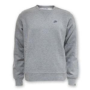 23f883cabf72 Nike Grey Men s Contender Crew Neck Sweater Fleece 382079-063 size S ...