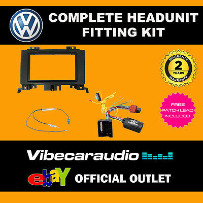 2014/> CTKVW10 Double Din Car Stereo Fascia Fitting Kit For VW Crafter