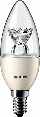 Philips MASTER LED 6W Candle Bulb 40W Replacement Warm White Dimmable E14