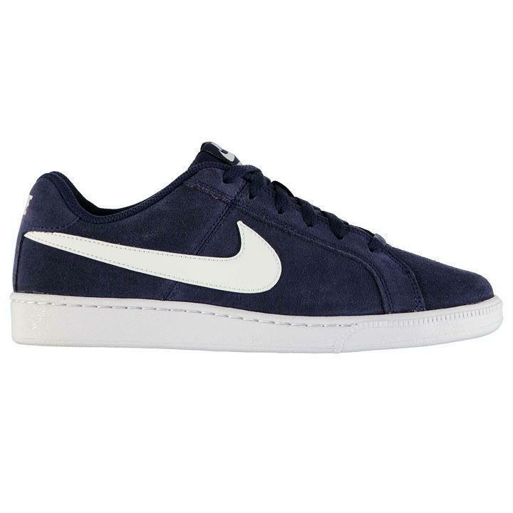 Nike Mens Court Royale Suede Trainers, Nike Suede Court Shoes - Navy