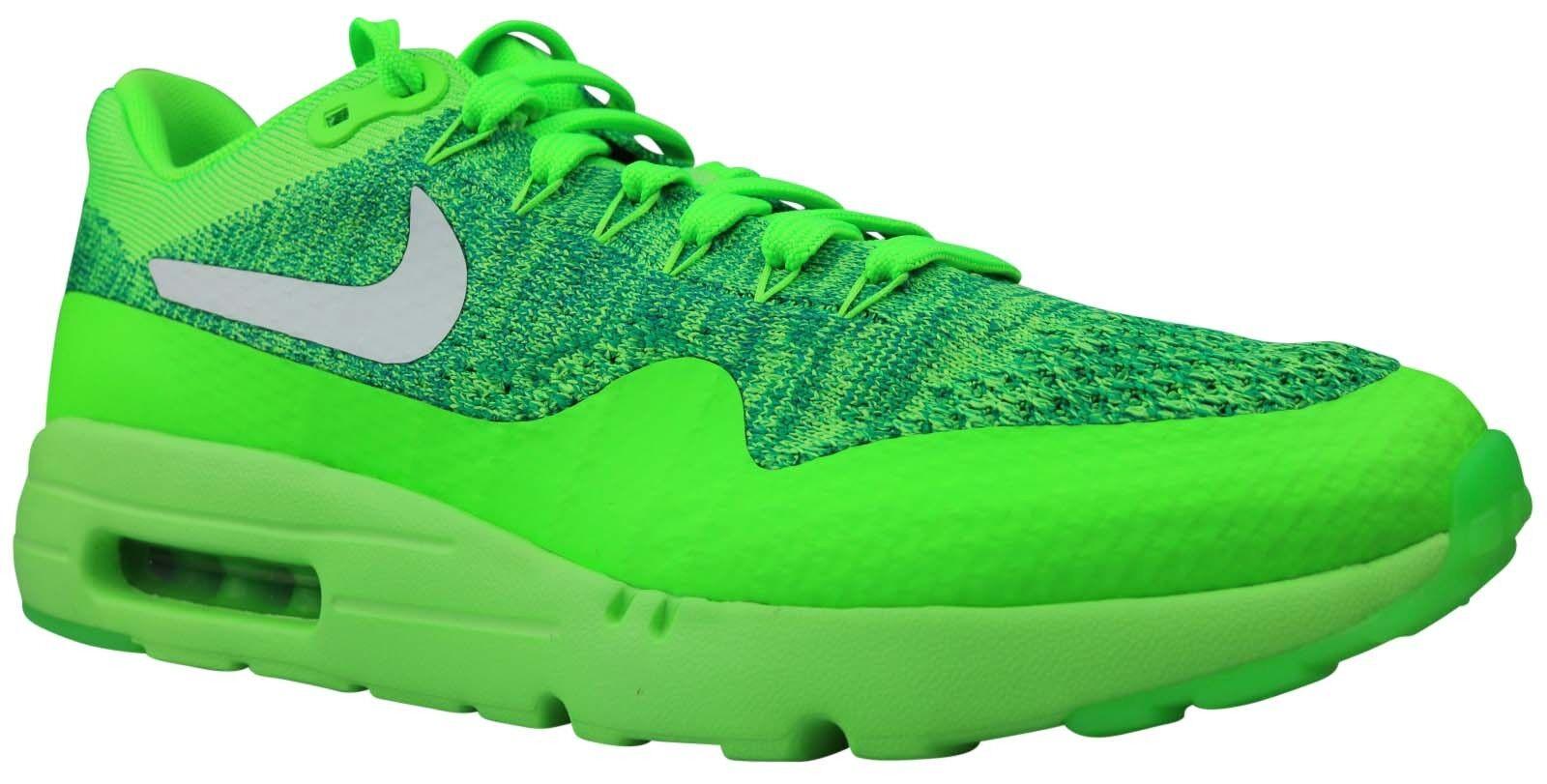Nike Air Air Air Max 1 Ultra Flyknit baskets Chaussures 843384-301 Taille 40,5 - 42 NOUVEAU & NEUF dans sa boîte 7ffcfe