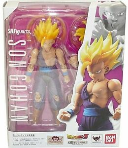 CompéTent Dragon Ball Z Super Saiyan Son Gohan Sh. Figuarts Bandai Tamashii Collector Shop Couleurs Harmonieuses