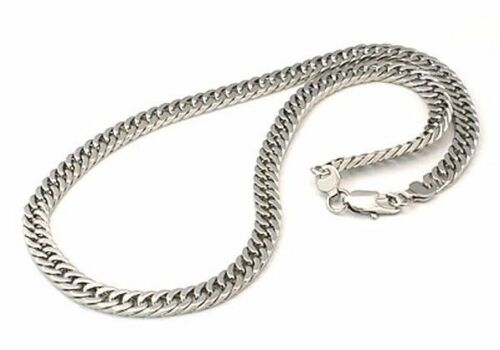 """Men Stainless Steel Necklace twisted Cuban link chain heavy 8mm 22/""""  N18"""
