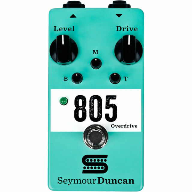 Seymour Duncan 805 Overdrive Pedal Guitar Distortion Effects Pedal