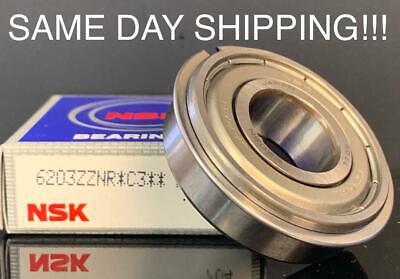 NIB NSK 6203ZZC3 BEARING METAL SEALED 6203 ZZ C3 17x40x12 mm MADE IN USA