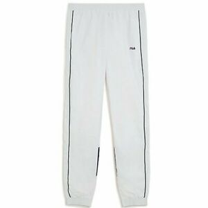 fb86fdb7137ce Image is loading Fila-Talmon-Woven-Pants-White-Men