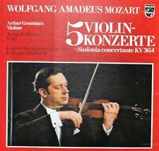 3 LP - Box @ Arthur Grumiaux und Arrigo Pelliccia @ Mozart 5 Violin Konzerte m -