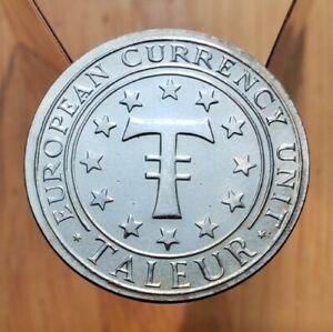 Ecu Prooflike bronze European Currency Unit medal BU0437