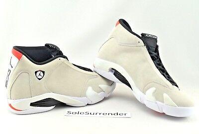 the latest c2203 3559e Air Jordan 14 Retro - CHOOSE SIZE - 487471-021 Desert Sand Black White Tan  Beige | eBay